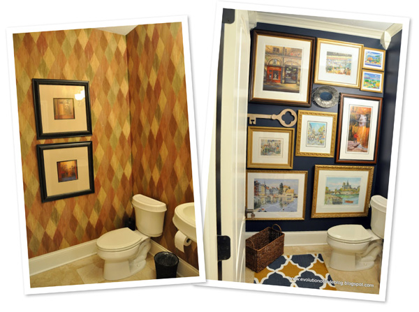 Bathroom makeover by Evolution of Style