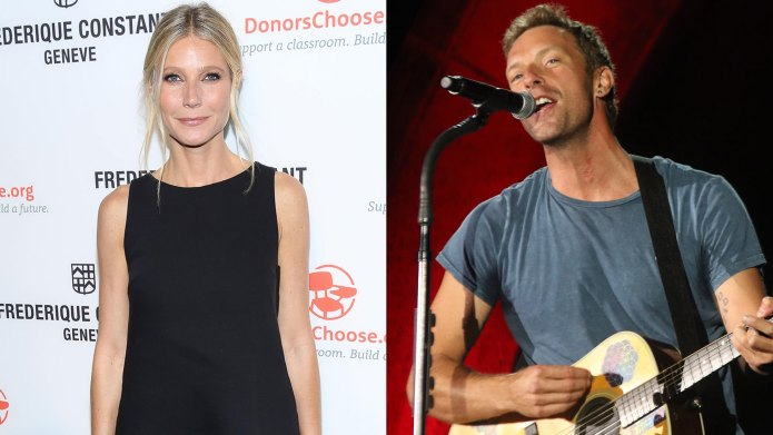 Gwyneth Paltrow and Chris Martin might