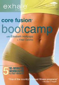 Exhale: Core Fusion Boot Camp Fitness DVD