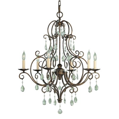 Murray Feiss Light Chateau Chandelier