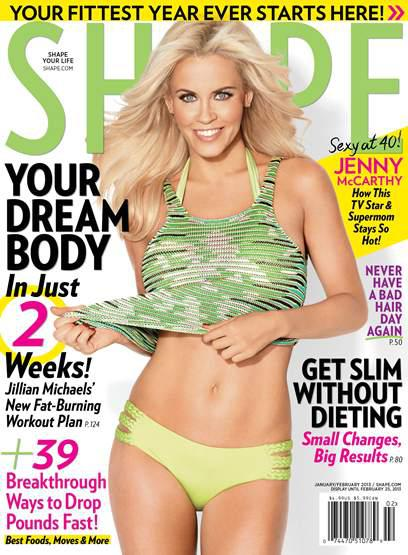 Celebrity mom cover stories: Jenny McCarthy,