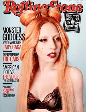 Lady Gaga's magazine cover fashion