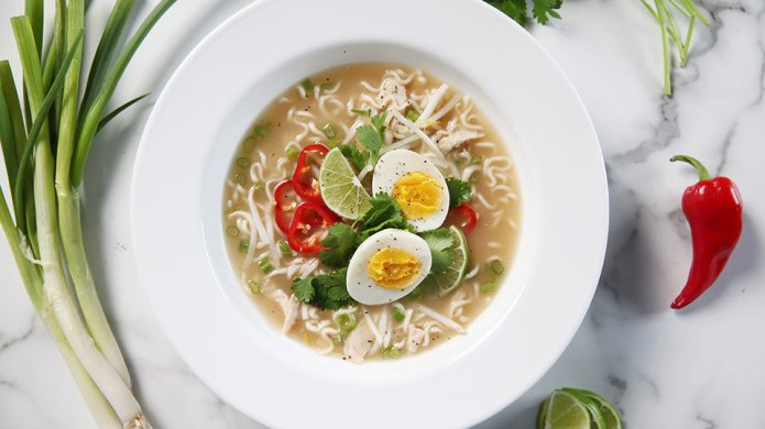 Pho plus ramen makes phomen, also