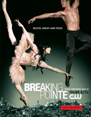 The CW's Breaking Pointe: Blood, sweat