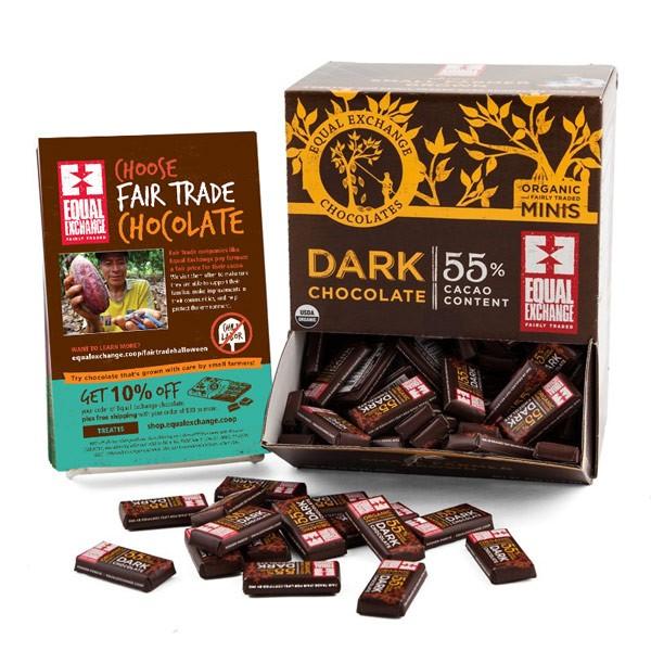 Equal Exchange Fair Trade dark chocolates