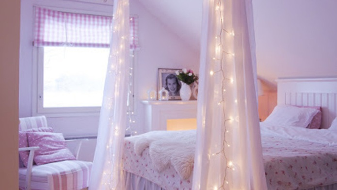 How to decorate with fairy lights