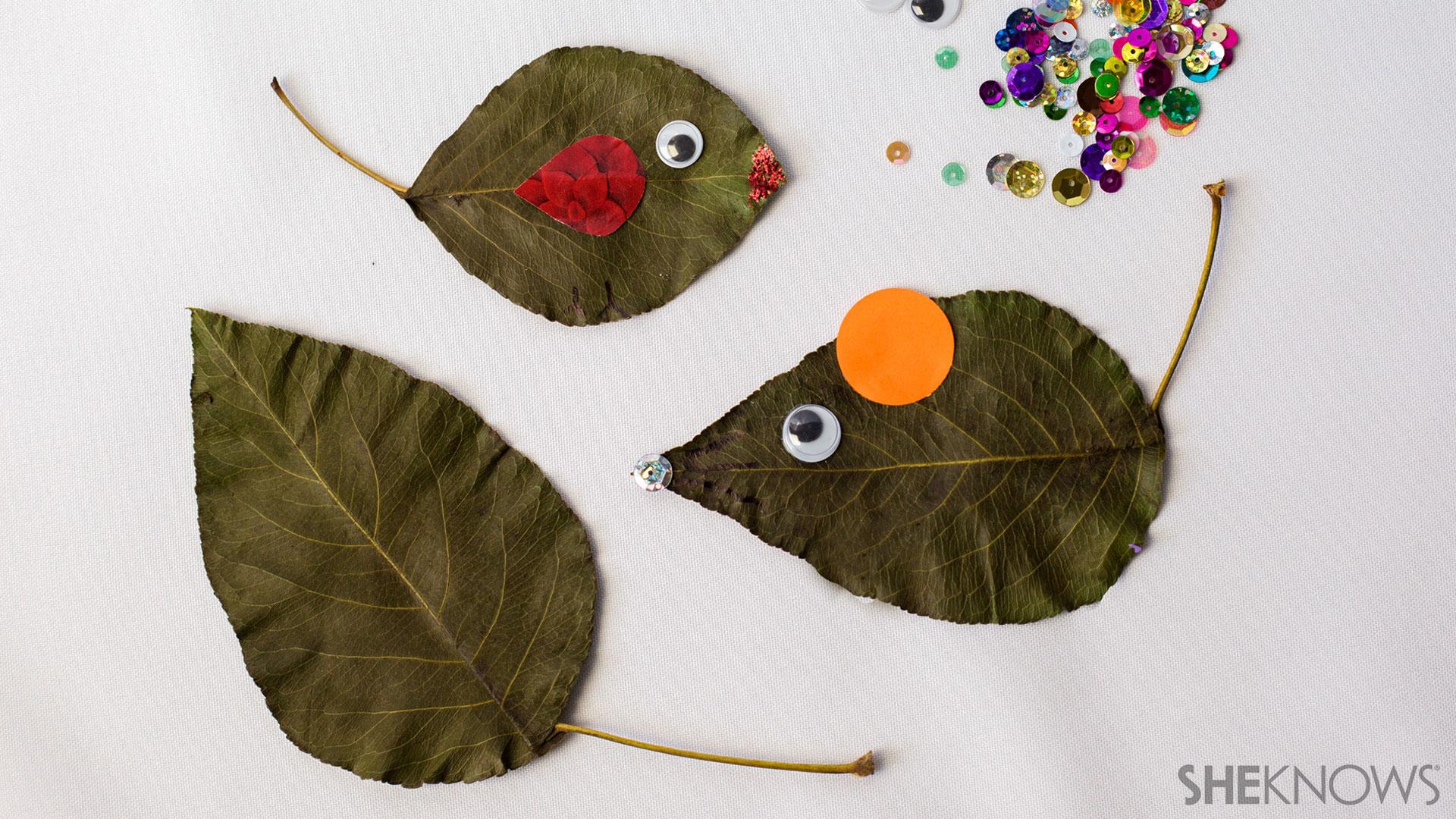 Leaf animal craft | Sheknows.com