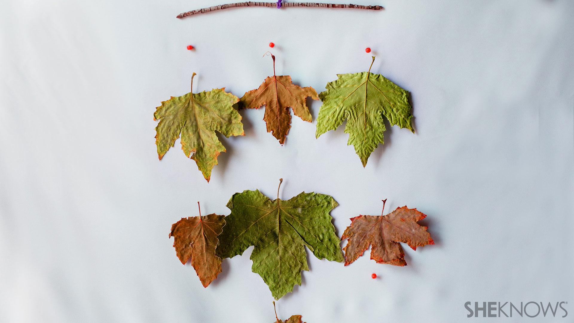 Leaf wind catcher craft | Sheknows.com