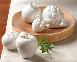 Ceramic fruit and vegetables