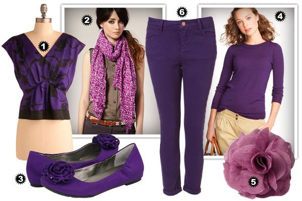 Purple fall fashion