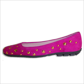 Paul Mayer Cosmo flat, $245.00, sold at Paul Mayer Attitudes in NYC