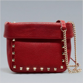 Zara studded mini bucket bag, $50, zara.com