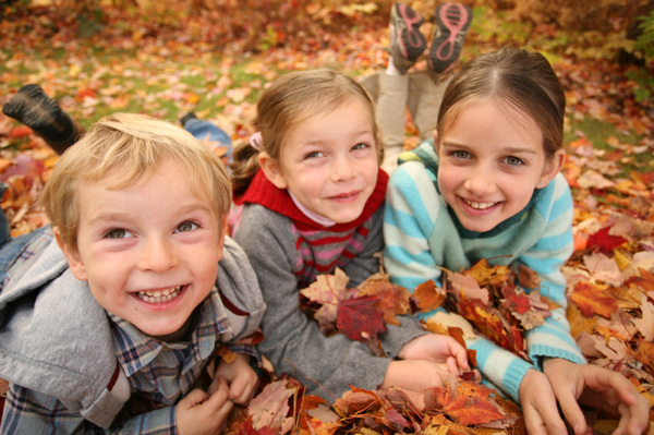 Fall activities with kids