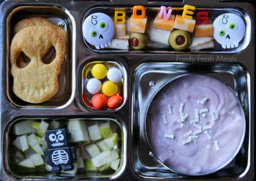 Halloween bento box