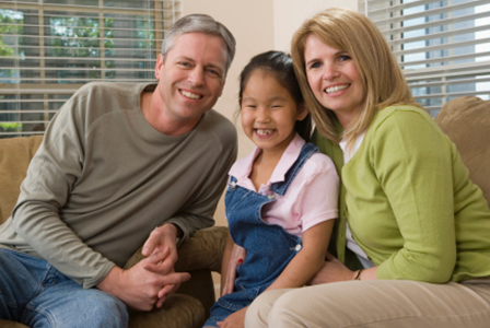 Family with adopted child | Sheknows.com