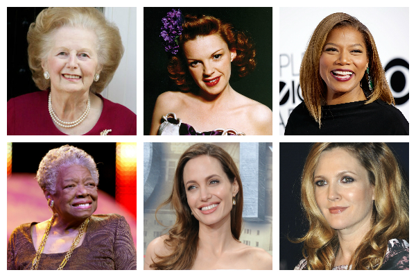 Collage of famous women | Sheknows.com