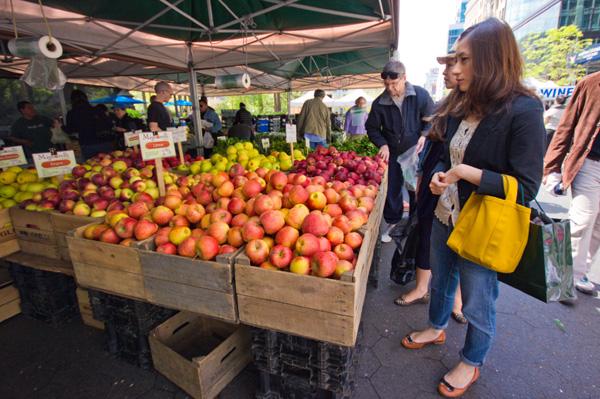 Union Square Farmer's Market