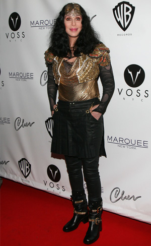 Cher and the the grand opening of Q Thursdays