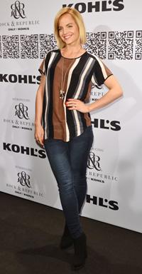 Mena Suvari at the Rock & Republic For Kohl's Fashion Show
