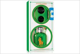 Ralph Lauren Polo Big Pony Green #3 Gift Set