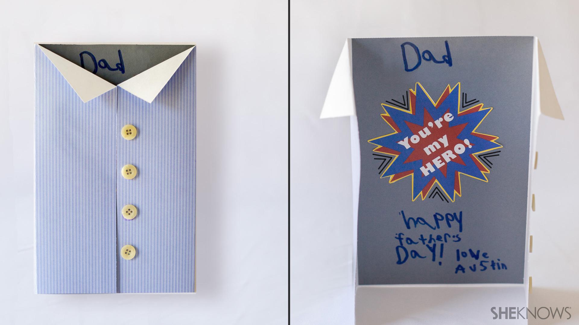 Super hero Father's Day card | Sheknows.com