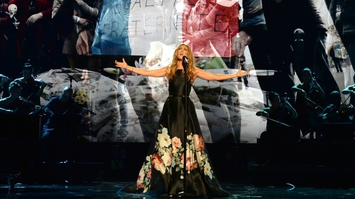 Celine Dion's tribute to Paris at