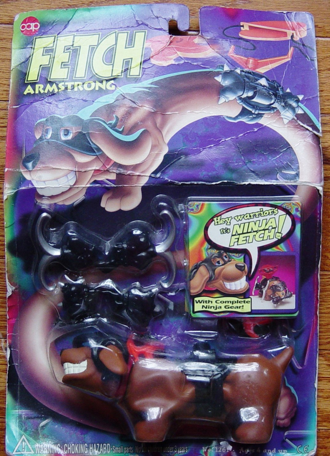 Stretch Armstrong's puppy Fetch