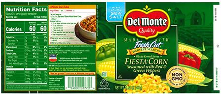 Del Monte Fiesta Corn
