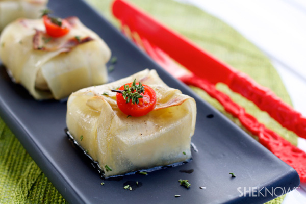 fish and potato squares