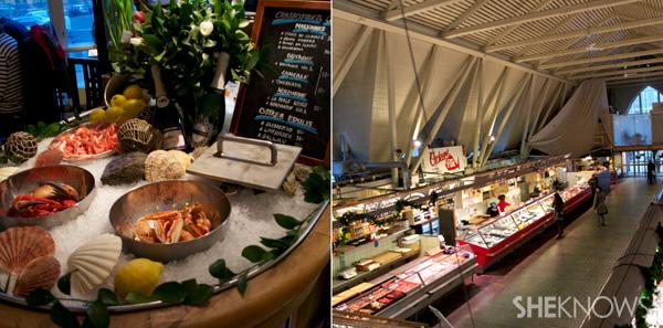 Feskekörka fish market hall