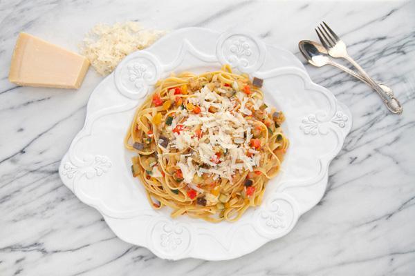 Ratatouille pasta