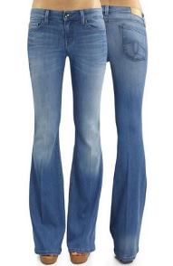 Jessica Alba flare jeans