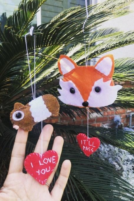 'Fleabag' Inspired Ornaments.
