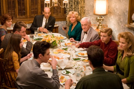 The cast of Flipped sits down to dinner