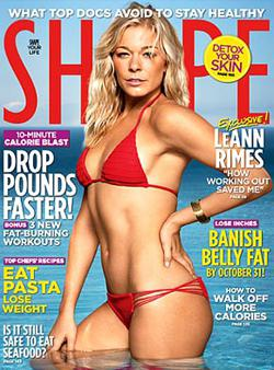 LeAnn Rimes responds to Shape magazine