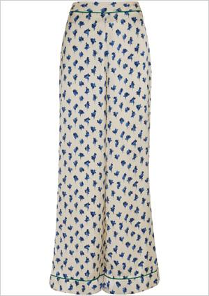 Floral PJ Trouser ($110)