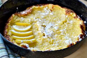 Fluffy oven pancake