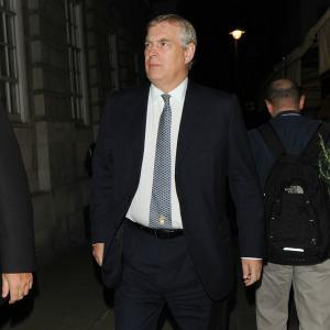 Prince Andrew accosted by cops on