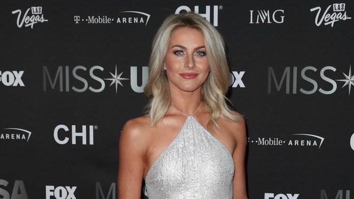 Julianne Hough admits her 'bangin' body'