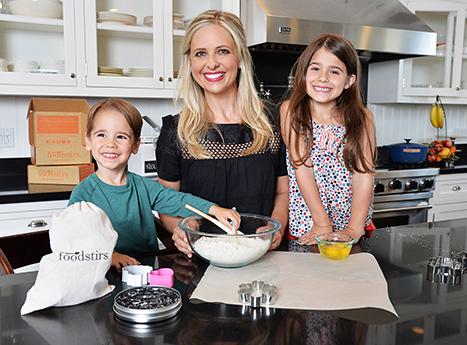 Sarah Michelle Gellar, Foodstirs and kids
