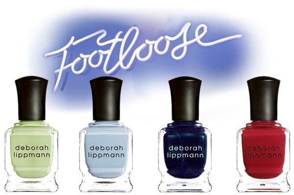 Deborah Lippmann's Footloose-Inspired Nail Polish Collection for HSN