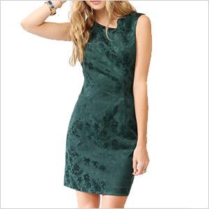 forever 21 jacquard dress