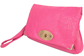 Forever 21 Leatherette Wristlet Clutch, $13