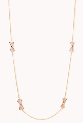 Long bow chain from Forever21
