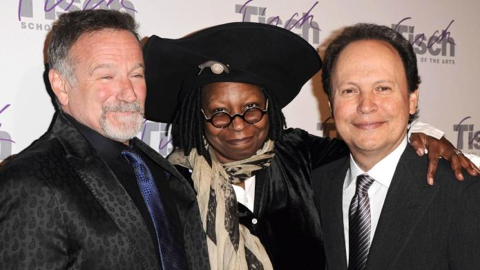 Whoopi Goldberg, Billy Crystal remember Robin