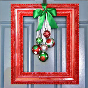 Framed christmas wreath | Sheknows.ca