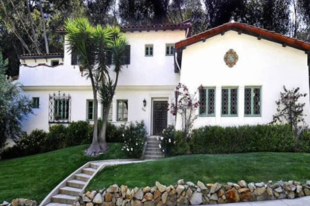 Frances Bean Cobain's house
