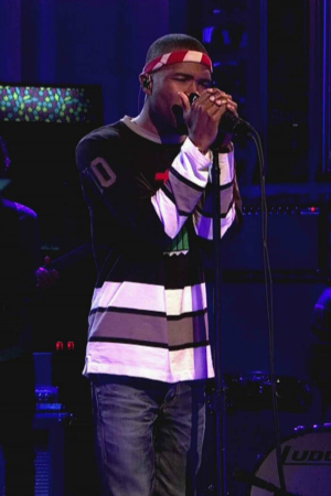Frank Ocean Performing on Saturday Night Live