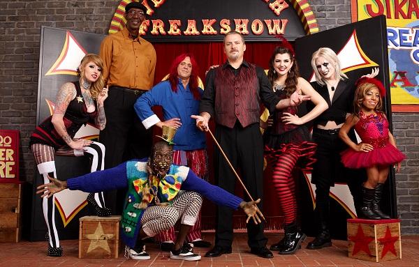Freakshow cast