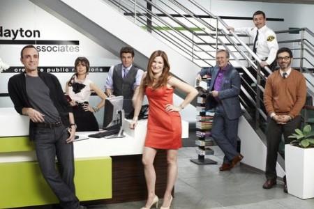 Free Agent's castmembers Hank Azaria, Kathryn Hahn, Anthony Head, Mo Mandel, Al Madrigal, Natasha Leggero and Joe Lo Truglio